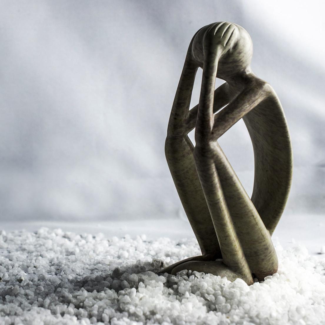 Statue of sadness